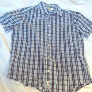 Original Penguin short sleeve collared shirt